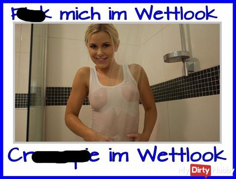 Wettlook fi** im Badezimmer…