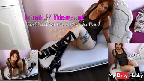 """Dominant """"PP"""" wanking instruction for advanced!   By Lady_Demona"""