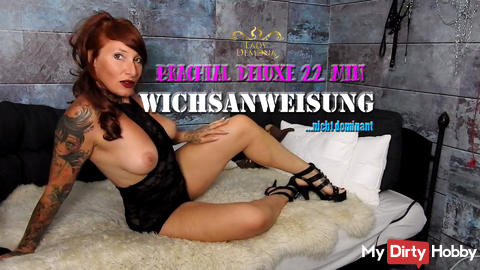 Wichsanweisung brachial deluxe! 22 min Extase between heaven and hell By Lady_Demona