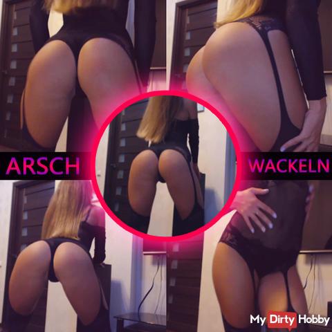 Shaking ass
