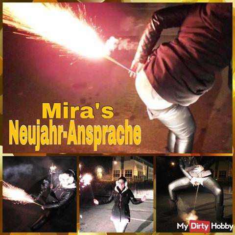 Mira's New Year speech!