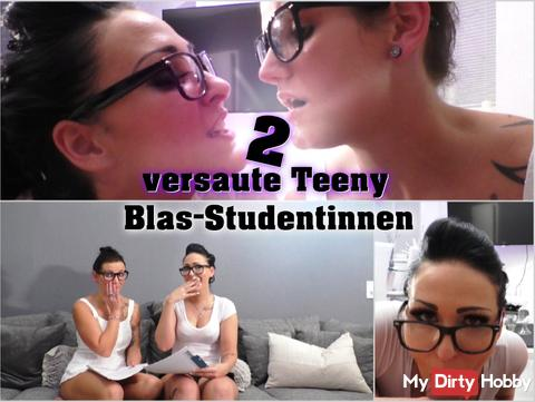 2 hot teen Blas - students