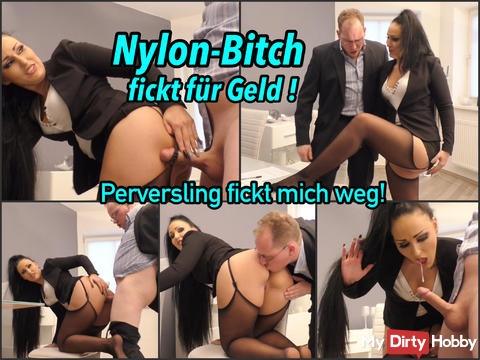 Nylon Bitch fucks for the Police !! perverse?