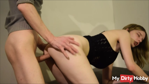 Geiler Quickie with Creampie