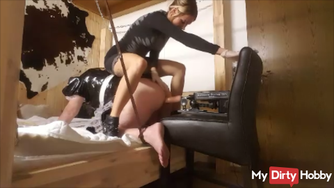 Anal treatment (the sub) DELUXE !!