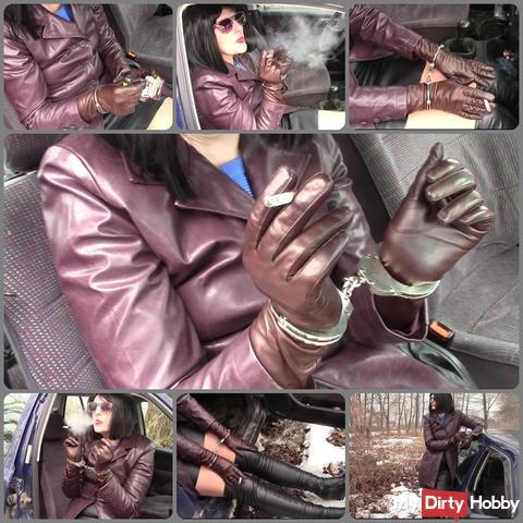 Smoking cigarette in handcuffs 8.