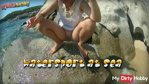 Watersport at sea GoPro version