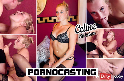 PORNOCASTING - Celine 19 years - part1 - EXCLUSIVE only HERE!