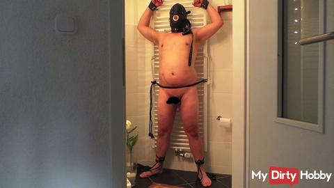 tied in the bathroom and tortured