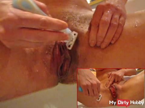 Muschirasur in the bathtub 2