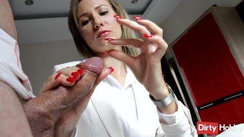 Precum play while fully dressed