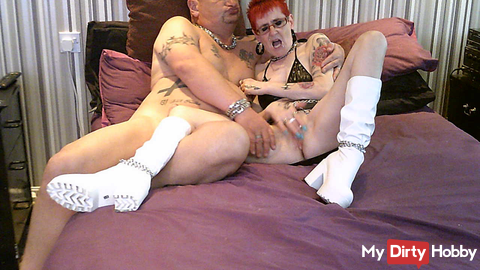 My New White Skanky Boots Part 5