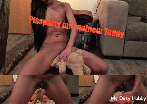 Pissparty with Teddy