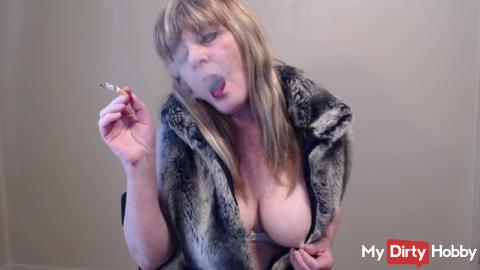Smoking In a Fur Coat