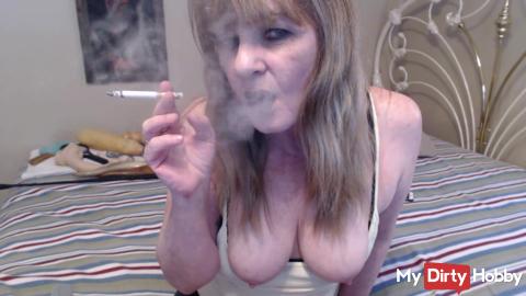 Smoking MIlf Cum Watch