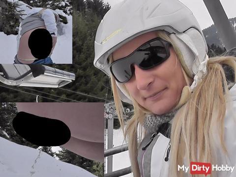 NS beim Ski fahren!!