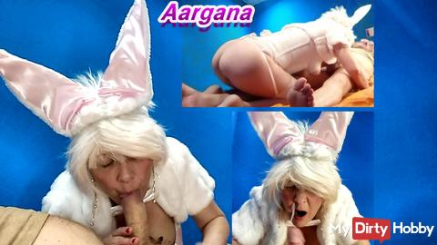 Bunny´s Blowjob with sperm play