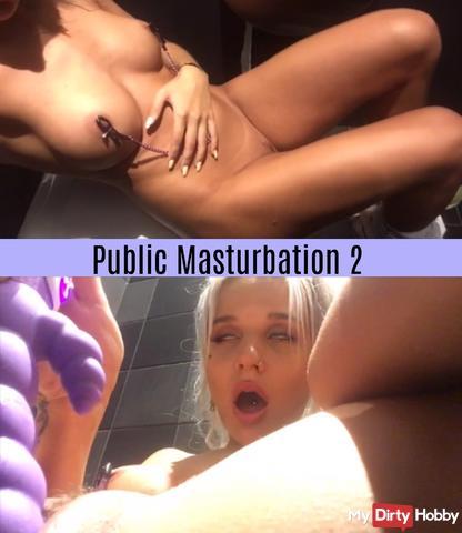 Public Masturbation 2  !