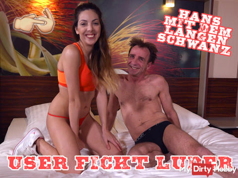 User fucks bitch - Hans with the long cock!