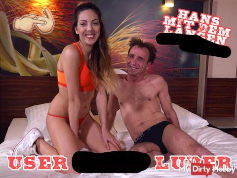 User fi**t Luder - Hans mit dem langen schw**z!