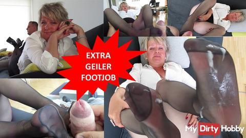 You swine are keen on my little feet?
