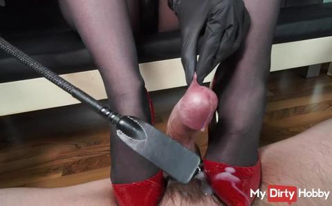 Masterful ruined orgasm