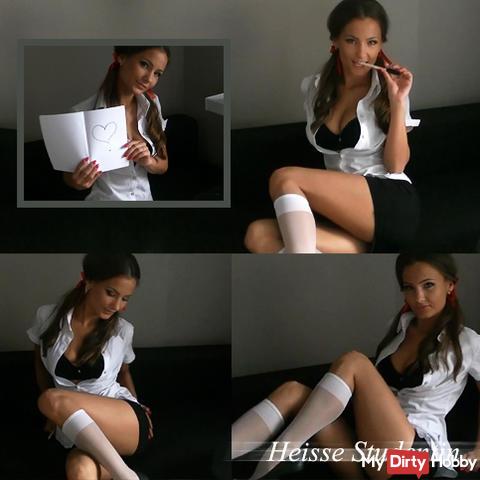 Hot student..