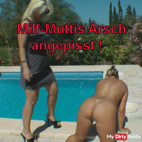 Milf mamas ass pissed!