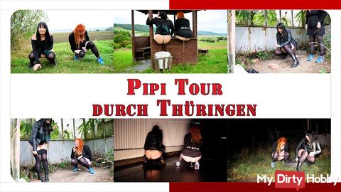Pee tour of Thuringia