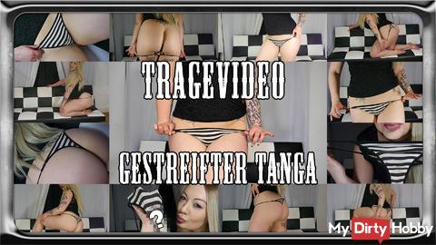 Carrying video - Striped Tanga