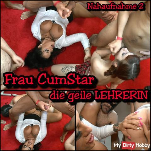 Woman CumStar the horny LEHRERIN- Close 2