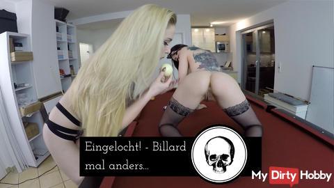 Eingelocht! - Billiards differently ....