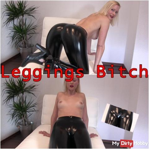 Leggings Bitch - Cameltoe oder Prallarsch ?!