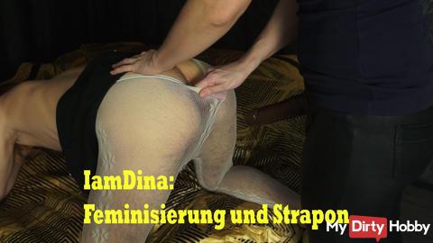 IamDina: Feminisierung und Strapon