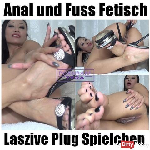 Anal and Foot Fetish - Lascivious Plug games