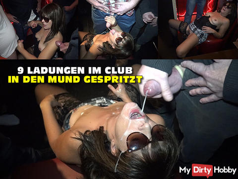 get sprayed 9 charges the club in the mouth