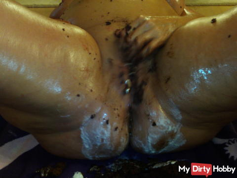Pussy and ass mess Oragsmus