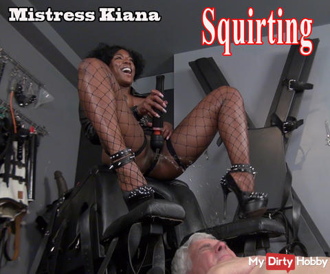 The short orgasm Mistress