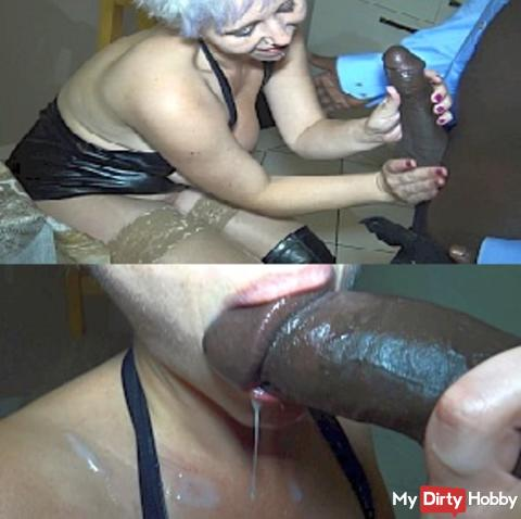 Cunt blasted by huge black cock! (Extremely Hardcore)