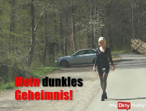 My dark secret! 3-hole whore on the street !!!