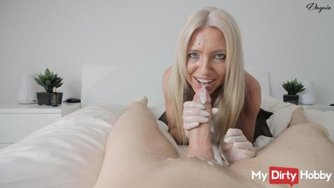 Cock treatment up to XXL sperm explosions!