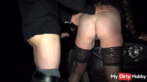 Outdoor creampie from Lover Cucki may lick